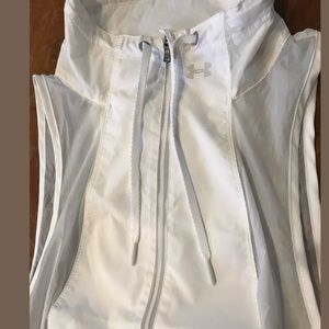 Under Armour Tops - Under Armour Roga Running Vest White Sz Medium